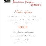 INVITO CORSO HCCP